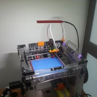 Small Led stick holder 3D Printing 50132