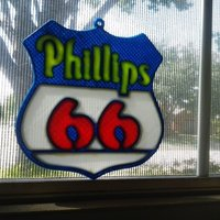 Small Phillips 66 3D Printing 50232