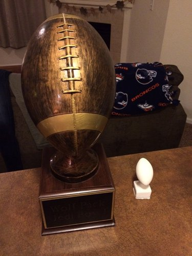 Fantasy Football Trophy 3D Print 50263