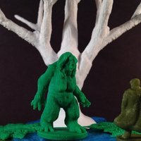 Small Swamp Trolls (18mm scale) 3D Printing 50405