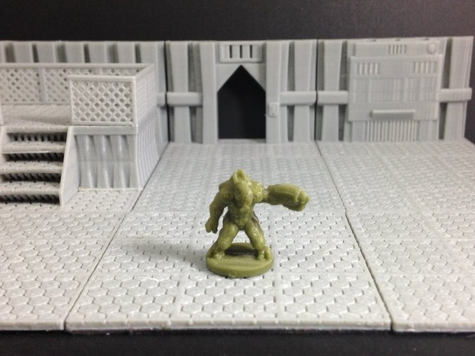 Xyn (Random Alien in 18mm scale) 3D Print 50411