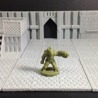 Small Xyn (Random Alien in 18mm scale) 3D Printing 50411