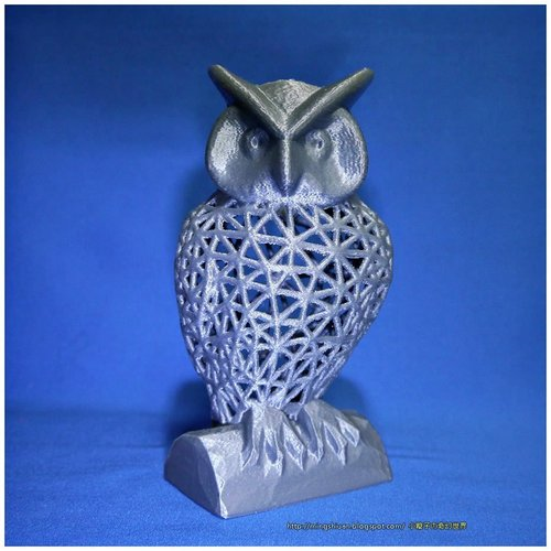 Owl Pen Holder / Tools Holder 3D Print 50432