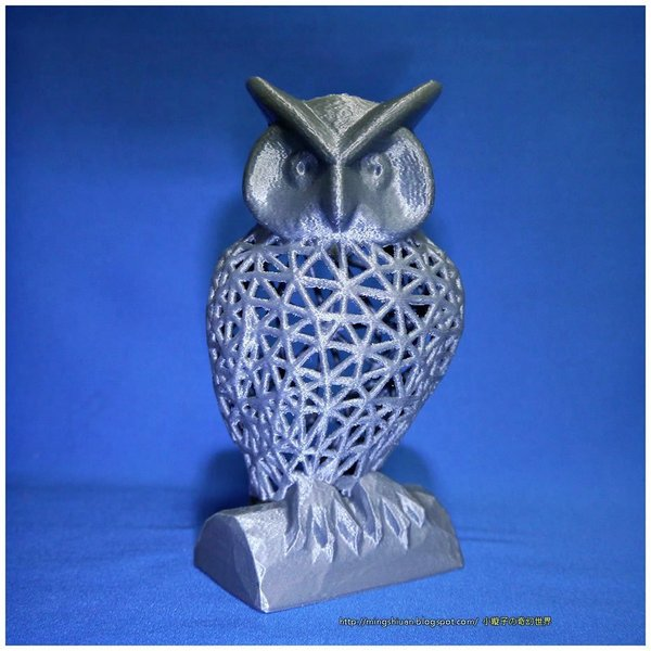 Medium Owl Pen Holder / Tools Holder 3D Printing 50432
