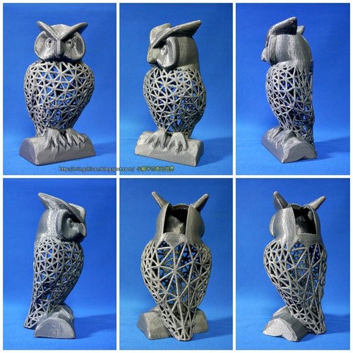 Owl Pen Holder / Tools Holder 3D Print 50434