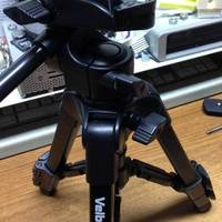 Small Velbon EX-Macro to GoPro Quick Release Mount 3D Printing 50457