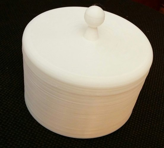 Round box with top 3D Print 50618