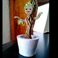 Small Dancing Baby Groot 3D Printing 5064
