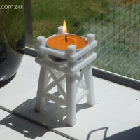 Small Candle Signal Towers 3D Printing 50814