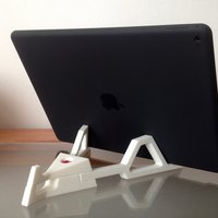 Small Desktop Stand for iPad Pro 3D Printing 50937
