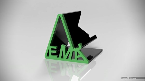 Medium Tom's universal phone stand EMA 3D Printing 51004