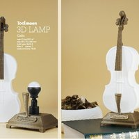 Small cello lamp 3D Printing 51014