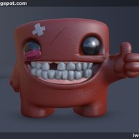 Small Super Meat Boy 3D Printing 51070