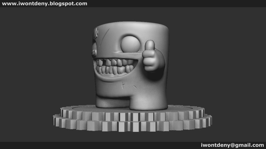 Super Meat Boy 3D Print 51072