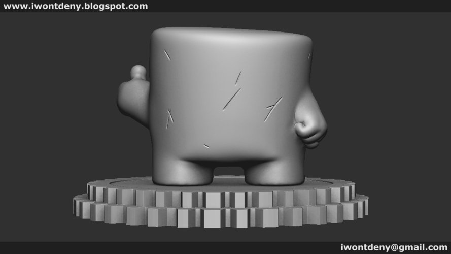 Super Meat Boy 3D Print 51074