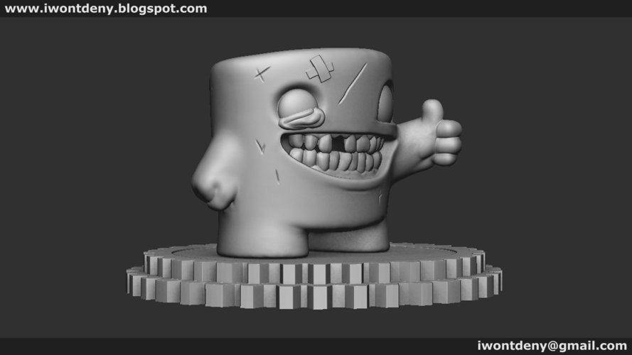Super Meat Boy 3D Print 51077