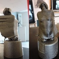 Small Spirit of Ecstasy 3D Printing 51094