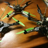 Small  FPV Racing Quad- / Hexa- / TriCopter frame 3D Printing 51109