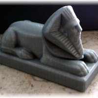 Small Sphinx  3D Printing 51114