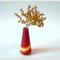 Small Red vase 3D Printing 51274