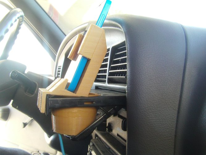 3d Printed Toyota Pickup Cup Lumina 630 Cell Phone Holder