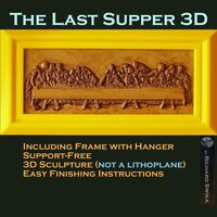 Small The Last Supper 3D 3D Printing 51339