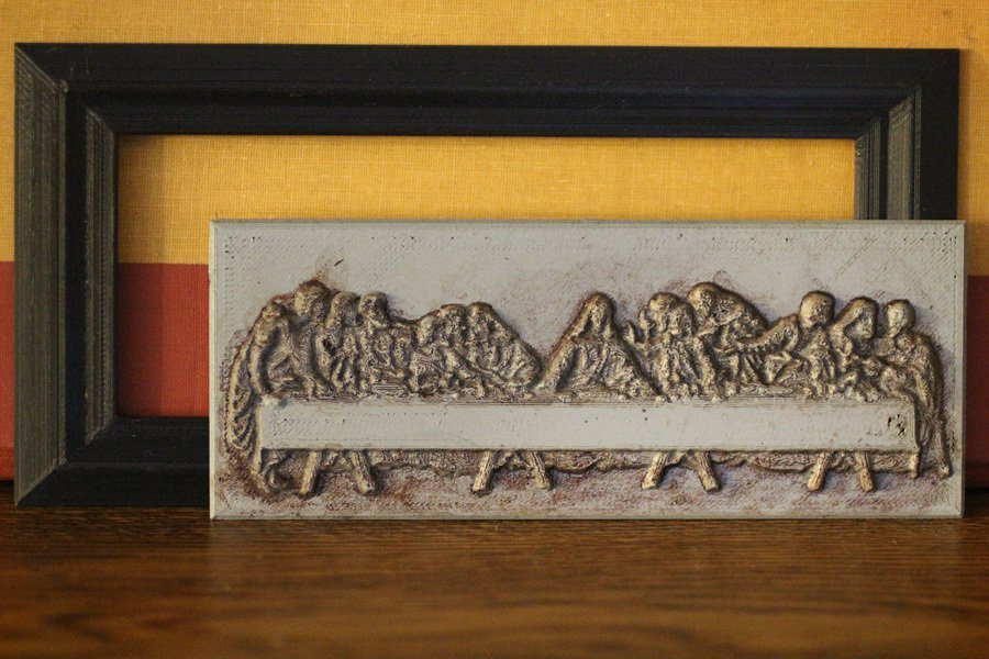 3D Printed The Last Supper 3D by richard_swika | Pinshape