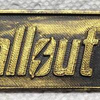 Small Fallout 4 keychain 3D Printing 51466