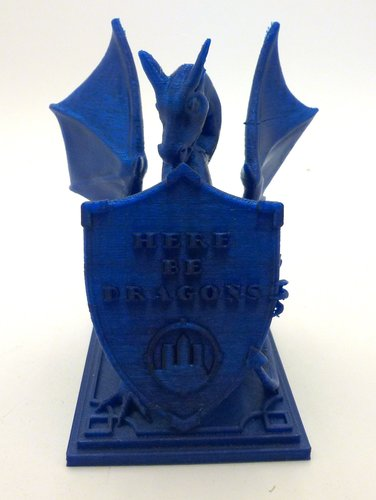 Roark The Dragon (DragonOff 2015 trophy) 3D Print 51515