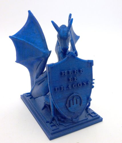 Roark The Dragon (DragonOff 2015 trophy) 3D Print 51517