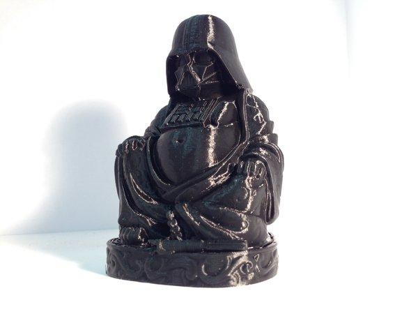 Medium Darth Vader Buddha with saber 3D Printing 51539