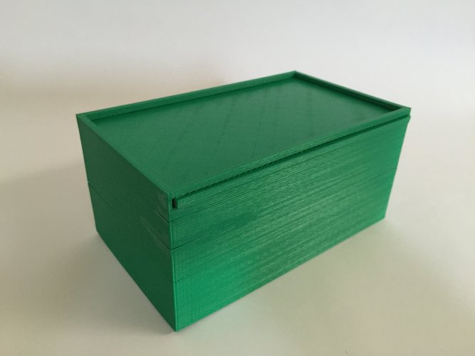 how to make a sliding lid box
