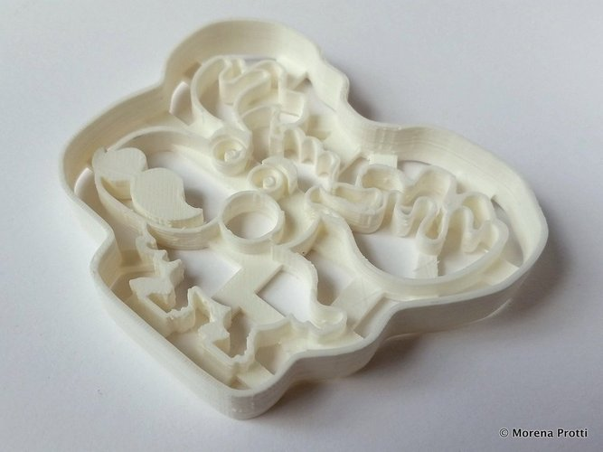 Moosember -  Movember Cookie Cutter 3D Print 51699