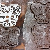 Small Moosember -  Movember Cookie Cutter 3D Printing 51700