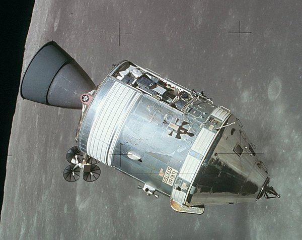 Medium Apollo Command and Service Module 3D Printing 51745