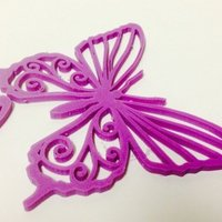 Small Butterfly for Bug #6 3D Printing 51841