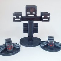 Small Wither and Spiders  3D Printing 51871