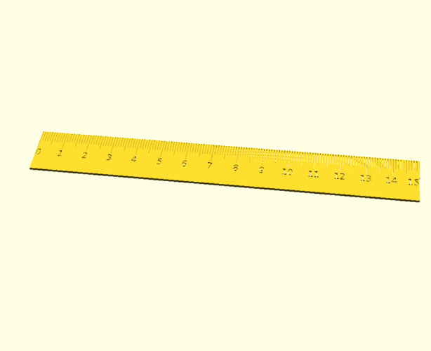ruler to print
