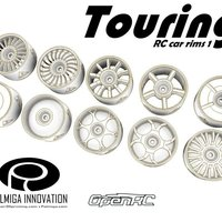 Small Touring RC Car rims  1 3D Printing 52042