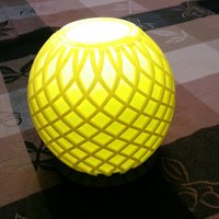 Small 2 table lamps: plain & fancy 3D Printing 52163
