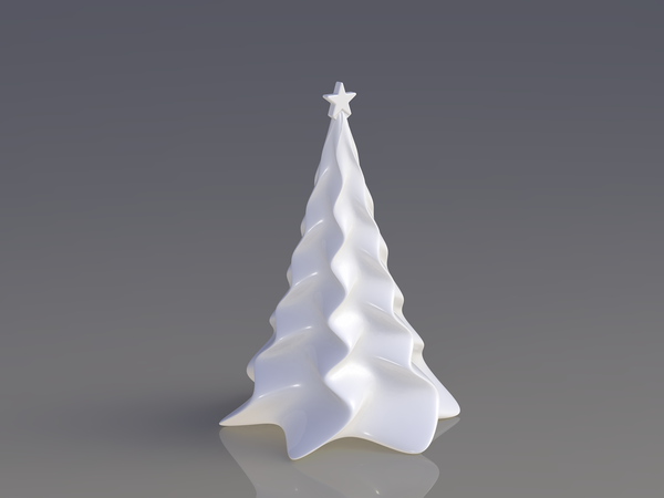Medium Christmas tree 3D Printing 52175