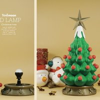 Small christmas tree lamp 3D Printing 52230