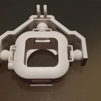 Small DJI Phantom FC40 Camera Holder Frame 3D Printing 52241