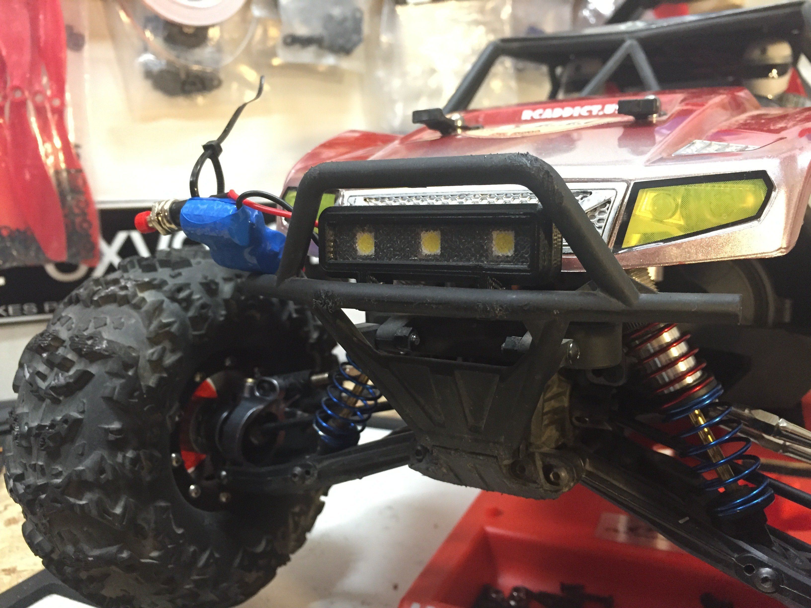 3d printed axial yeti bumper light bar by adam spare time hobbies 3d printed axial yeti bumper light bar by adam spare time hobbies pinshape aloadofball Image collections