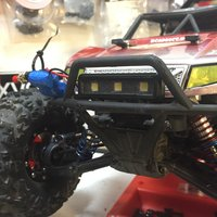 Small Axial Yeti Bumper Light Bar 3D Printing 52276
