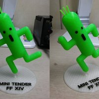 Small Final Fantasy XIV - mini tender (mini cactus)  3D Printing 52308