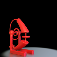 Small Desk Buddy 3D Printing 52334