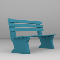 Small Bench for architectural project 3D Printing 52392