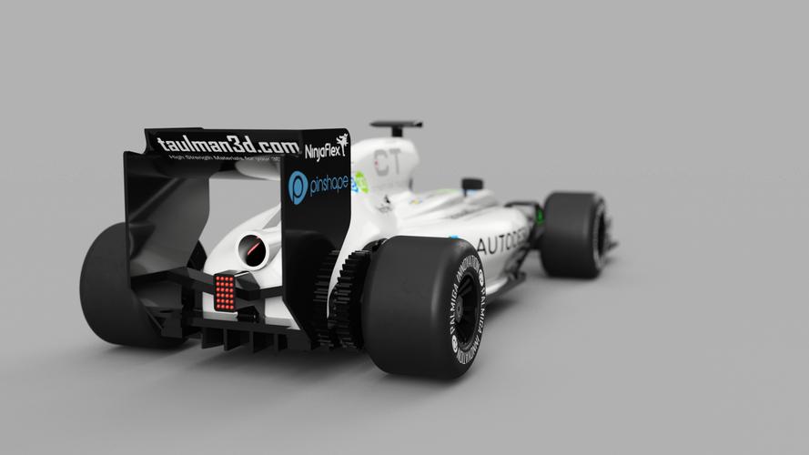 Openrc Formula 1 Car - f1 car 3d model free download