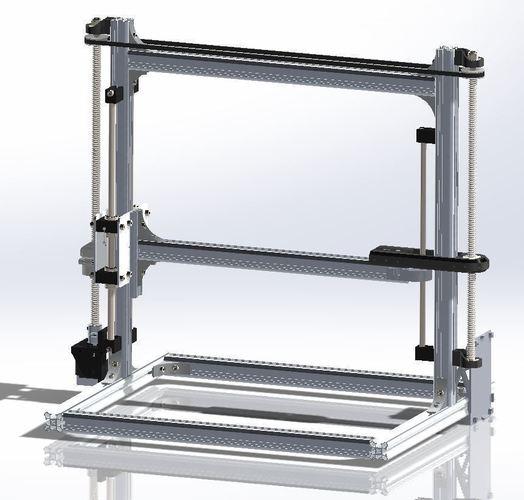 3D Printed Velleman K8...